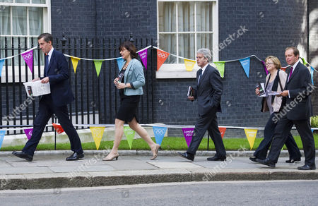 Picture Shows Mp's Including From Left Andrew Selous Claire Perry Mark Garnier Fiona Mactaggart And David Burrows Arriving At Downing Street Today With A Petition Requesting A Block On Pornographic Websites.