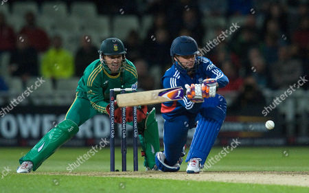Cricket T20 England V South Africa At Edgbaston Craig Kieswetter In Action For England.