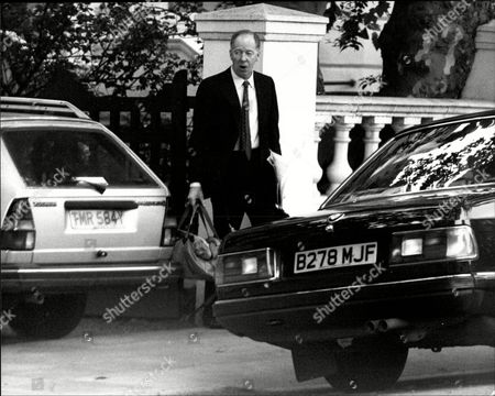 Editorial image of Jacob Rothschild. 4th Baron Rothschild Leaving Home For Work Nathaniel Charles Jacob Rothschild 4th Baron Rothschild Om Gbe Fba (born 29 April 1936) Is A British Investment Banker And A Member Of The Prominent Rothschild Banking Family. He Is Also Ho