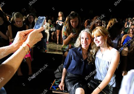 Editorial photo of Behind the Scenes with Bella Thorne During New York Fashion Week, America - 08 Sep 2013