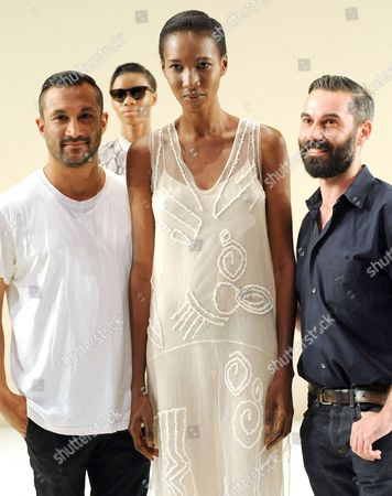Editorial photo of Tome show, Spring Summer 2014, Mercedes-Benz Fashion Week, New York, America - 06 Sep 2013