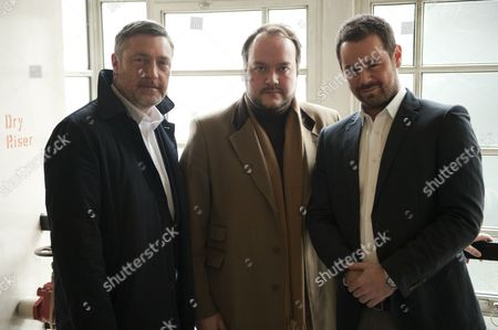 Vincent Regan, Jonathan Sothcott and Danny Dyer