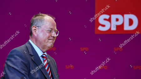 Editorial photo of Social Democratic Party members follow the state elections, Berlin, Germany - 15 Sep 2013