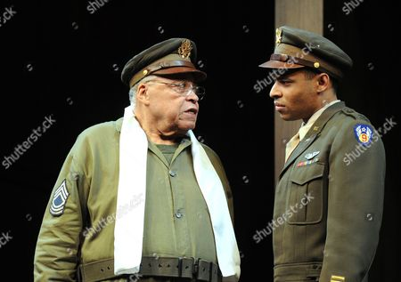 James Earl Jones as Benedick, Lloyd Everitt as Claudio