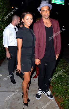 Katerina Graham and Cottrell Guidry