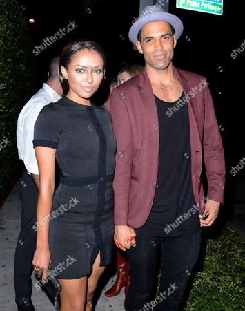 Stock Image of Katerina Graham and Cottrell Guidry