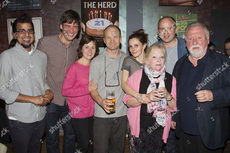 Stock Picture of Madani Younis, Adrian Bower, Amanda Root, Adrian Rawlins, Louise Brealey, Anna Calder Marshall, Rory Kinnear and Kenneth Cranham