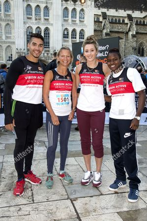 Editorial image of Bloomberg Square Mile Relay 2013, London, Britain - 19 Sep 2013