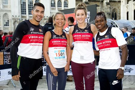 Louis Smith, Sophia Warner, Jade Jones Nicola Adams