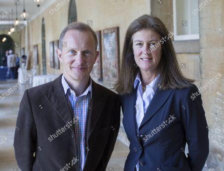 Simon Thurley and Lady Henrietta Spencer Churchill