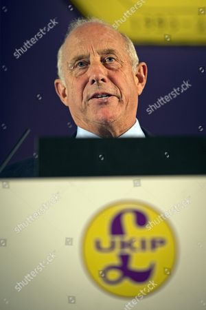 Godfrey Bloom speaking at the 2013 UK Independence Party (UKIP) Annual Conference