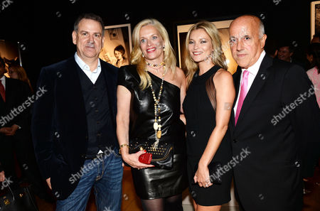 Editorial photo of Kate Moss The Collection, private view, London, Britain - 20 Sep 2013