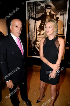 Stock Photo of Philippe Garner and Kate Moss