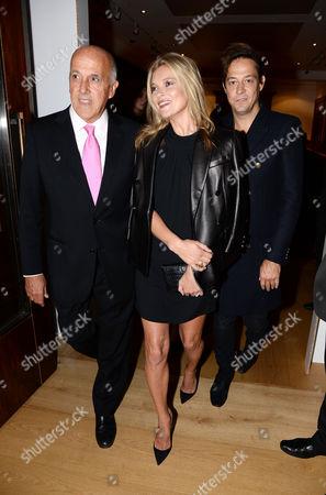 Philippe Garner, Kate Moss and Jamie Hince