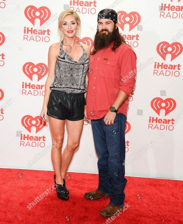 Stock Picture of Jessica Robertson and Jep Robertson