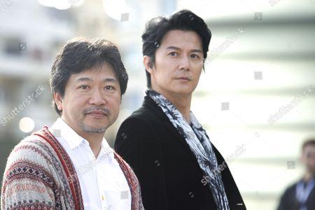 Hirokazu Koreeda and Masaharu Fukuyama