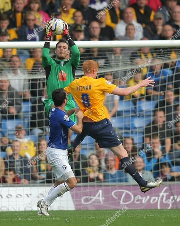 Editorial picture of Sky Bet League 2 2013/14, Oxford United v Chesterfield, Britain - 21 Sep 2013