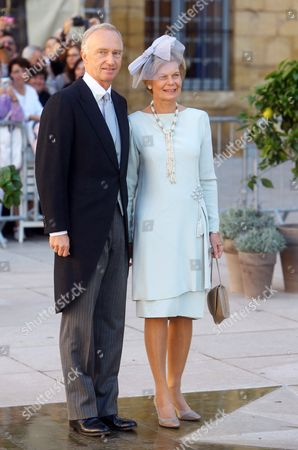 Editorial image of Prince Felix of Luxembourg and Princess Claire of Luxembourg Religious Wedding Ceremony, Saint-Maximin-la-Sainte-Baume, France - 21 Sep 2013