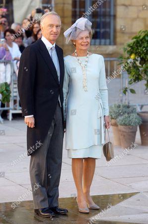 Stock Image of Archduke Carl Christian of Austria, Archduchess Marie Astrid of Austria