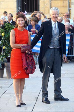 Princess Margaretha of Liechtenstein and Prince Nikolaus of Liechtenstein