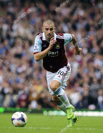 Mladen Petric of West Ham United