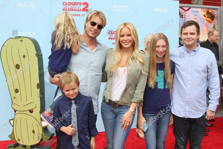 Editorial image of 'Cloudy With a Chance of Meatballs 2' film premiere, Los Angeles, America - 21 Sep 2013