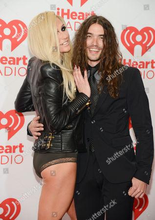 Ke$ha and Alex Carapetis