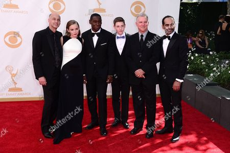 Cast of Homeland - David Marciano, Morgan Saylor, David Harewood, Jackson Pace, Jamey Sheridan, Navid Negahban