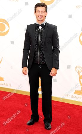 Editorial photo of The 65th Annual Primetime Emmy Awards, Arrivals, Los Angeles, America - 22 Sep 2013
