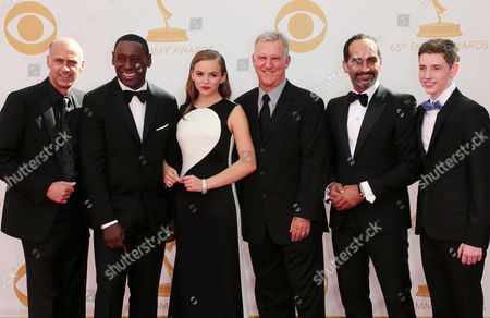 Cast of Homeland - David Marciano, David Harewood, Morgan Saylor, Jackson Pace, Jamey Sheridan and Navid Negahban