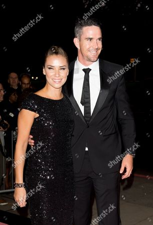 Jessica Taylor and Kevin Pietersen