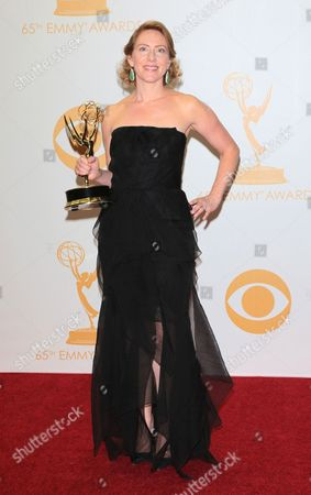 Editorial photo of The 65th Annual Primetime Emmy Awards, Press Room, Los Angeles, America - 22 Sep 2013