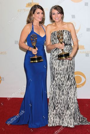 Tina Fey and Tracey Wigfield