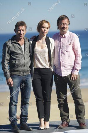 Director Manuel Martin Cuenca, Actor Antonio de la Torre and Romanian Actress Olimpia Melinte