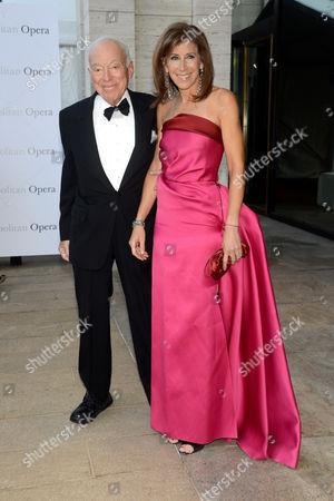 Leonard Lauder and Linda Johnson