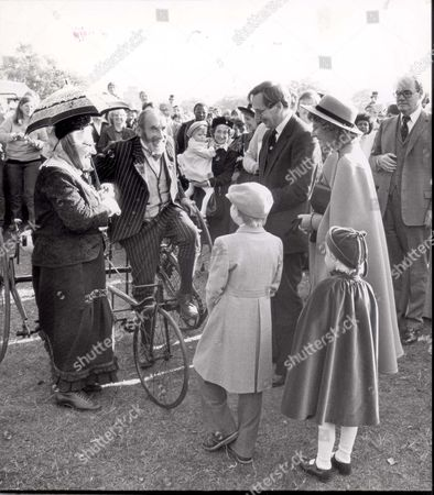 The Duke And Duchess Of Gloucester Presented The Prizes Today In The Park Accompanied By Their Three Children- The Earl Of Ulster 9 And Lady Davina Windsor 6 And Lady Rose Windsor 3 Who Continuously Punched And Kicked Her Mother Until Her Nanny Took Her Away.