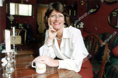 Clare Latimer Former Downing Street Caterer 1994. Pkt2466-169591.