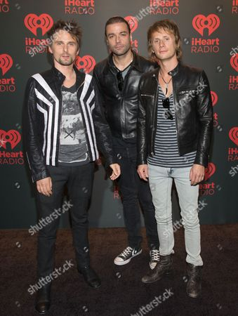 MUSE - Matt Bellamy, Christopher Wolstenholme, Dominic Howard