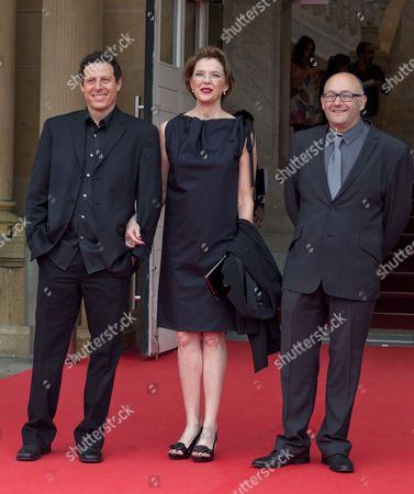 Arie Posin, Annette Bening and guest