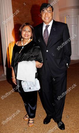Usha Mittal and Lakshmi Mittal