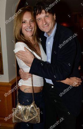 Lord John Somerset and girlfriend