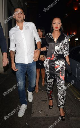 Leigh-Anne Pinnock and boyfriend Jordan Kiffin