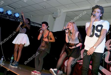EverYoung - (left to right) - Cherelle Williams, Jack Morlen, Hollie McKinlay and Eyal Booker