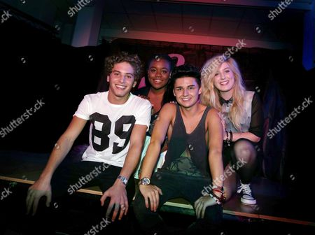 EverYoung - (left to right) - Eyal Booker, Cherelle Williams, Jack Morlen and Hollie McKinlay