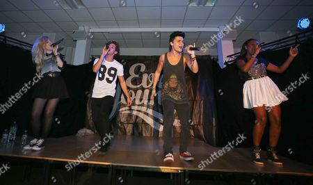 EverYoung - (left to right) - Hollie McKinlay, Eyal Booker, Jack Morlen and Cherelle Williams