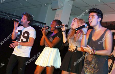 EverYoung - (left to right) - Eyal Booker, Cherelle Williams, Hollie McKinlay and Jack Morlen