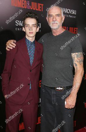 Kodi Smit-McPhee and father