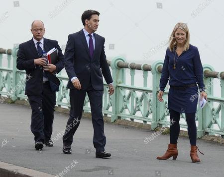 Ed Miliband and Rachel Kinnock