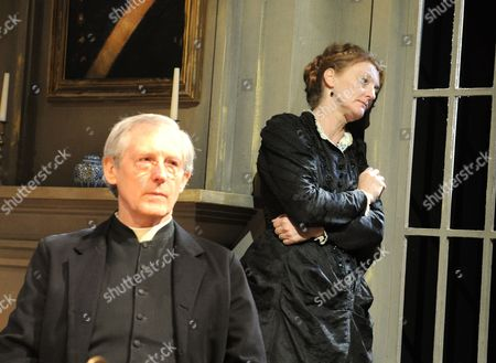 Editorial picture of 'Ghosts' play performed at the Rose Theatre, Kingston, London, Britain - 24 Sep 2013