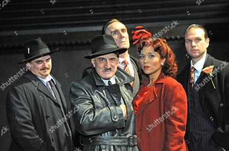 Stock Image of Peter Moreton Henry Goodman as Arturo Ui, Joe McGann, Amanda Gordon, David Sturzaker